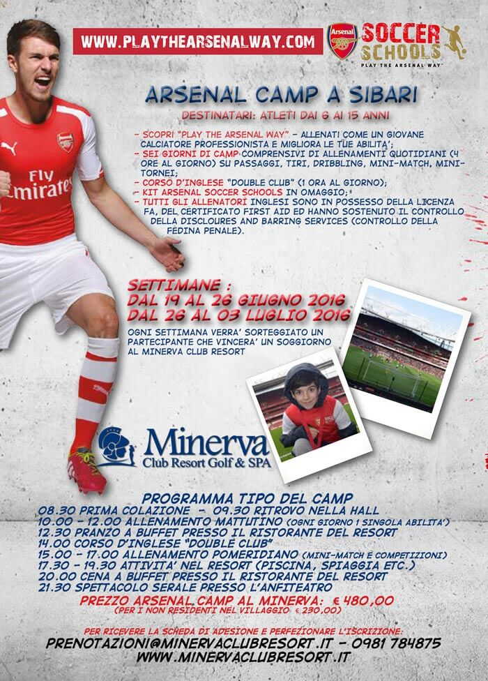 arsenal camp 2016